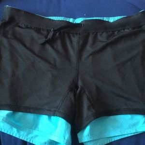 Nike Shorts - Light blue/ Teal Nike running shorts